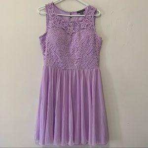 Suzy Shier Lilac Purple Dress size Medium
